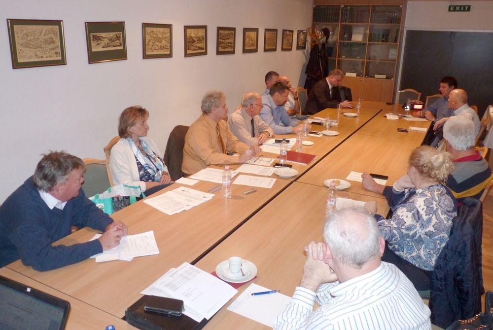 helyszíni találkozót 1. ülése)